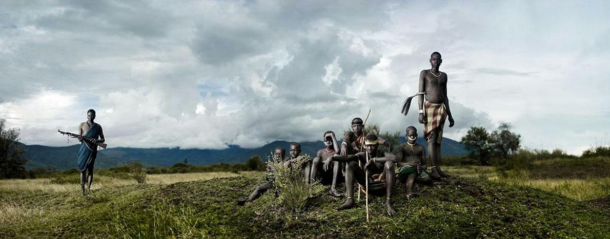 Племя Боди, фото, Эфиопия, Африка