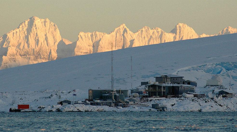 станция Палмер, Антарктида, фото