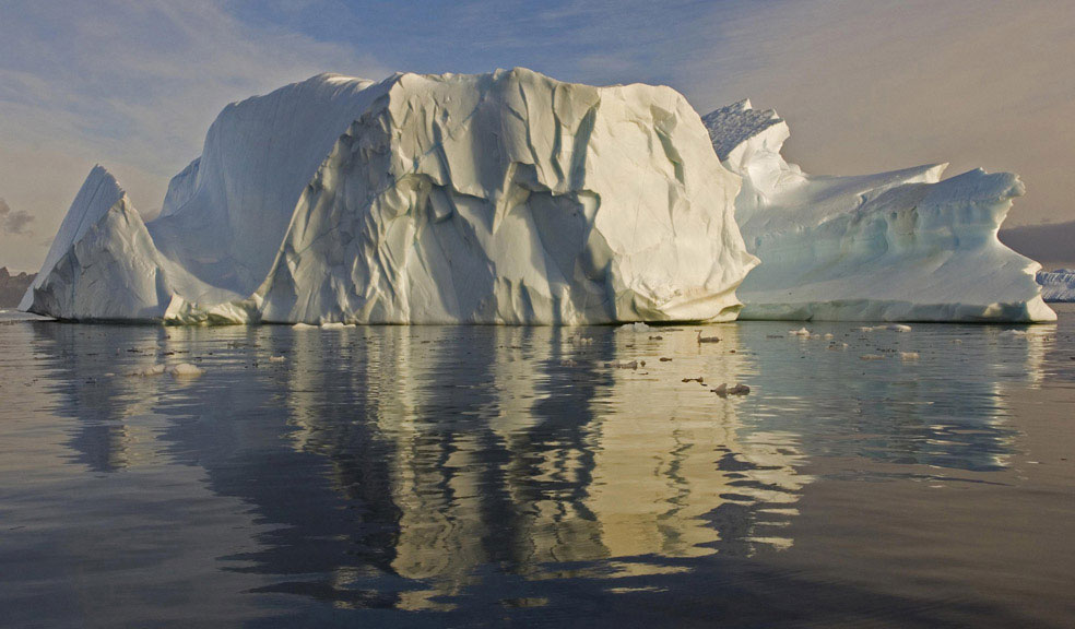 айсберг в Антарктиде, фото