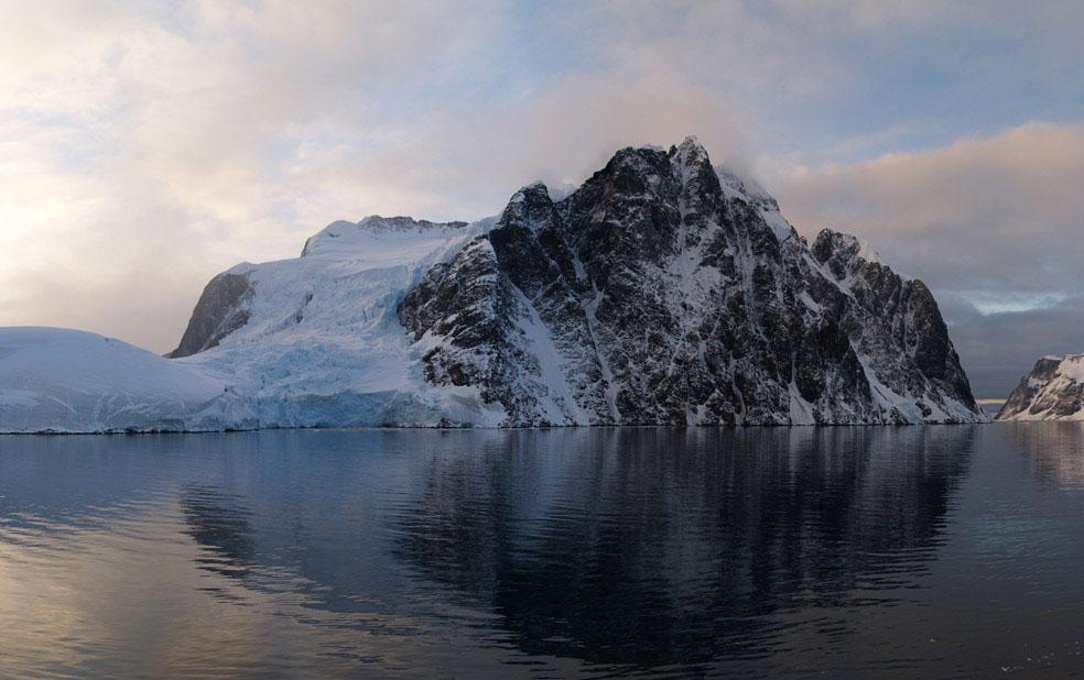 вид на Антарктиду, фото