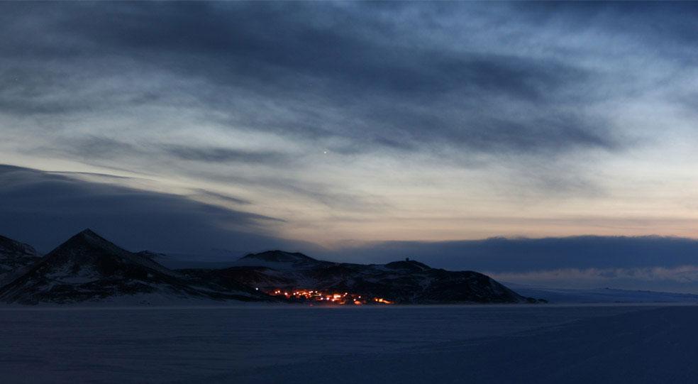 станция Мак-Мердо, Антарктида, фото
