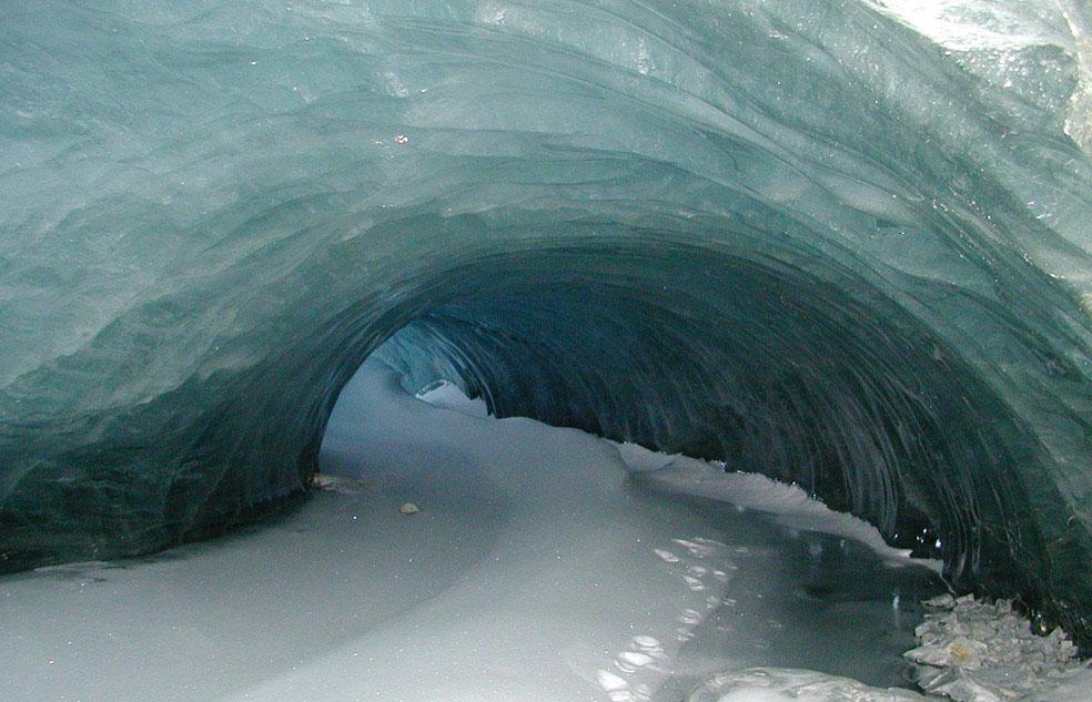 Ледяная пещера, Антарктида, фото