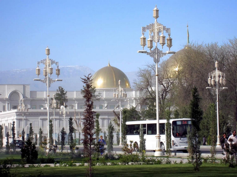 Дворцовый комплекс Ашхабада