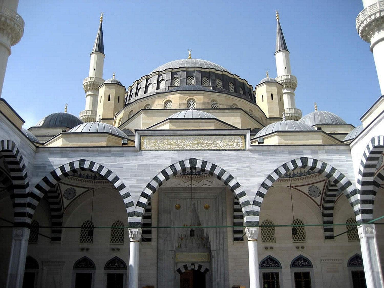 дворик мечети Эртогрулгазы