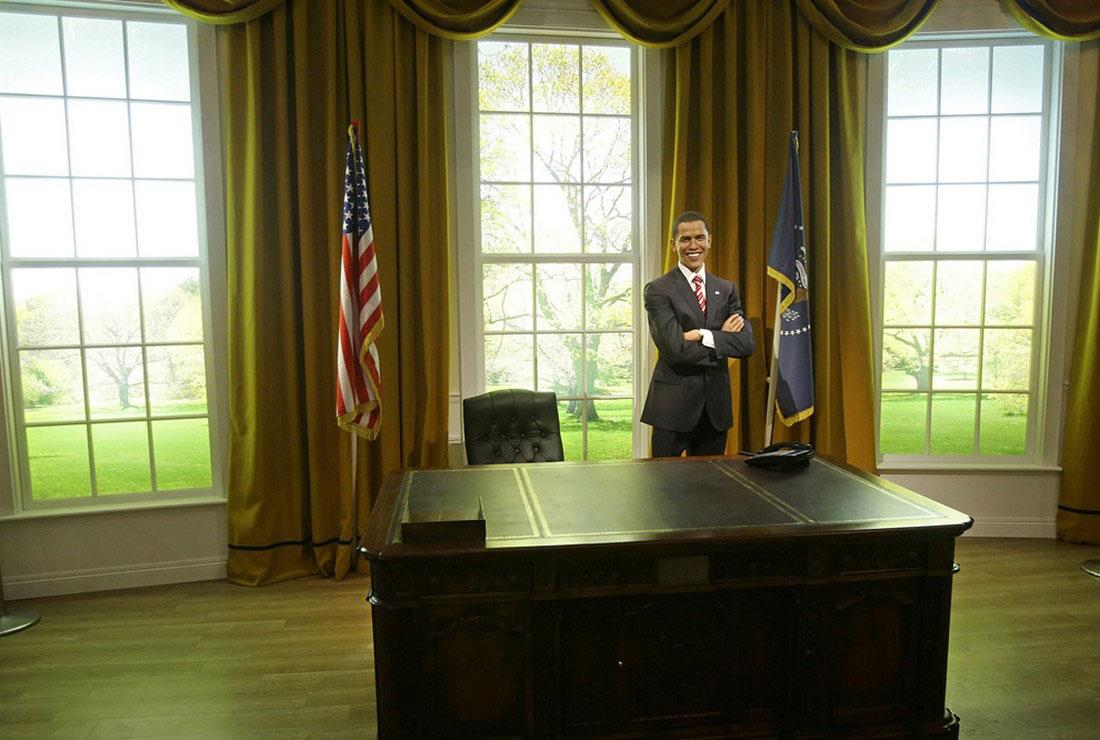 Восковая фигура президента Барака Обамы, фото США