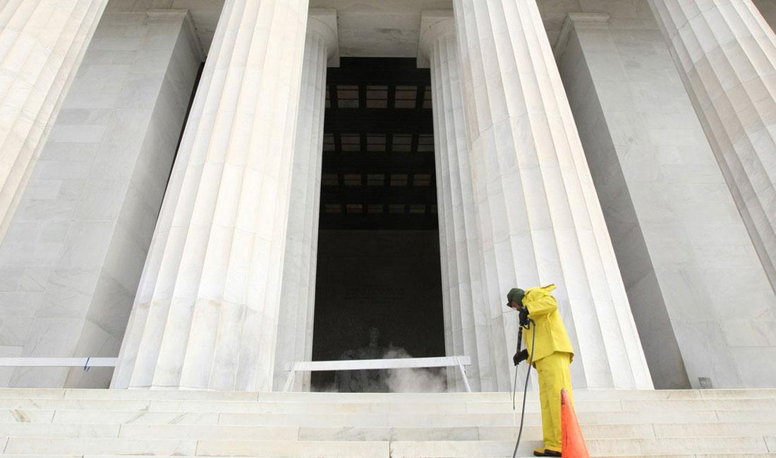 Мемориал Авраама Линкольна в Вашингтоне, фото США