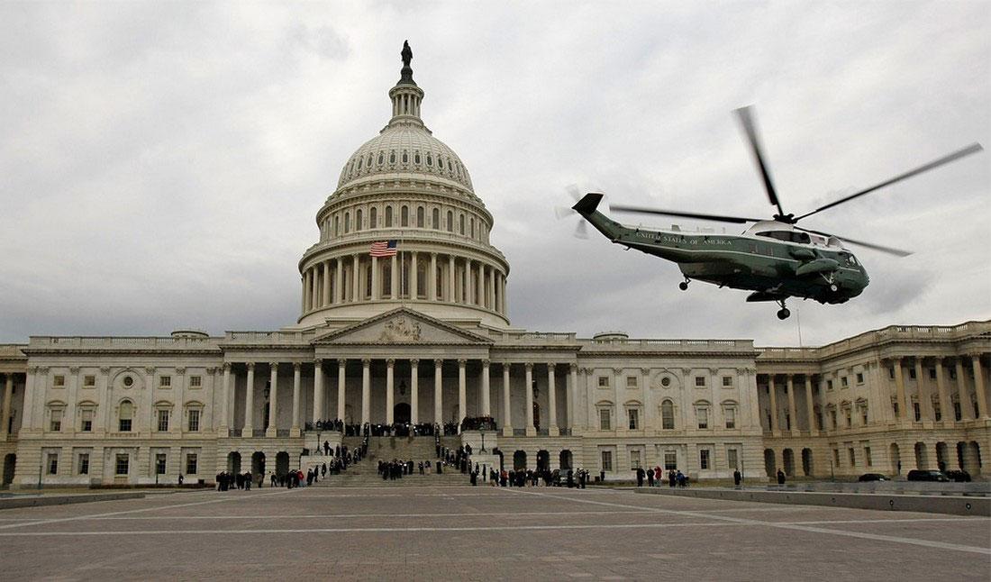 Вертолет морской пехоты США, фото