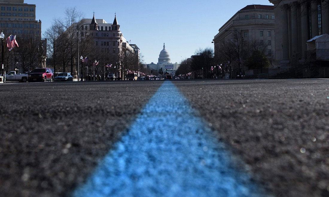 маршрут торжественного парада в Вашингтоне, фото США