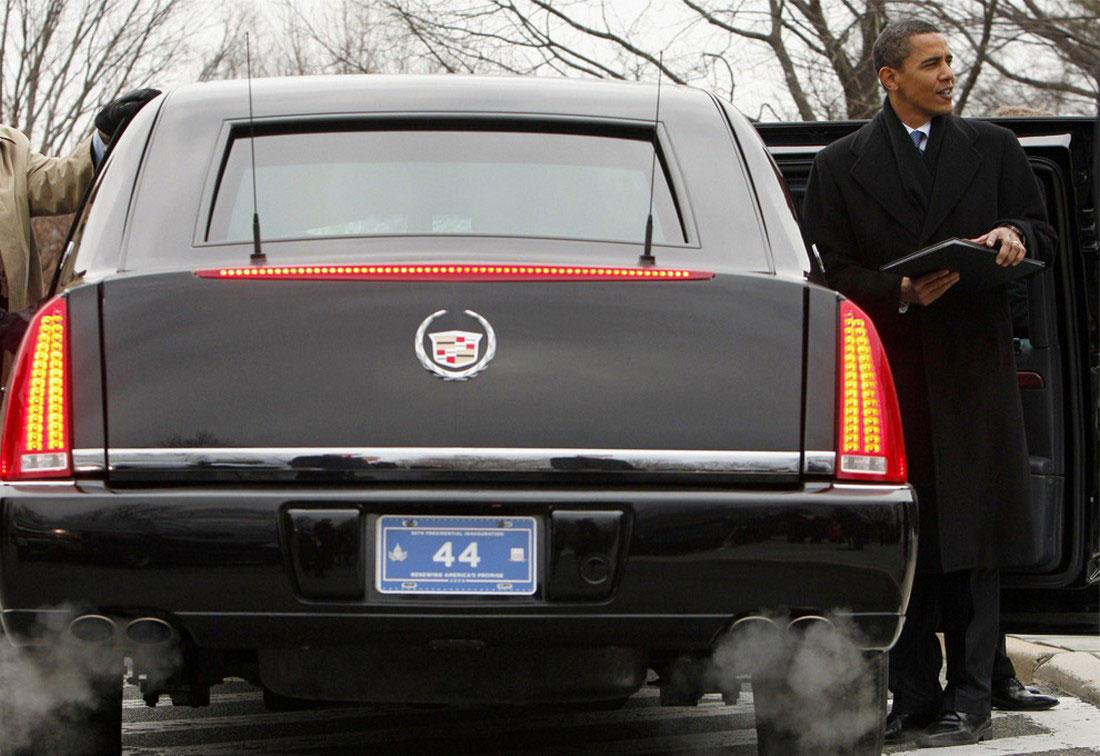 Президентский лимузин на Арлингтонском кладбище, штат Вирджиния, фото США