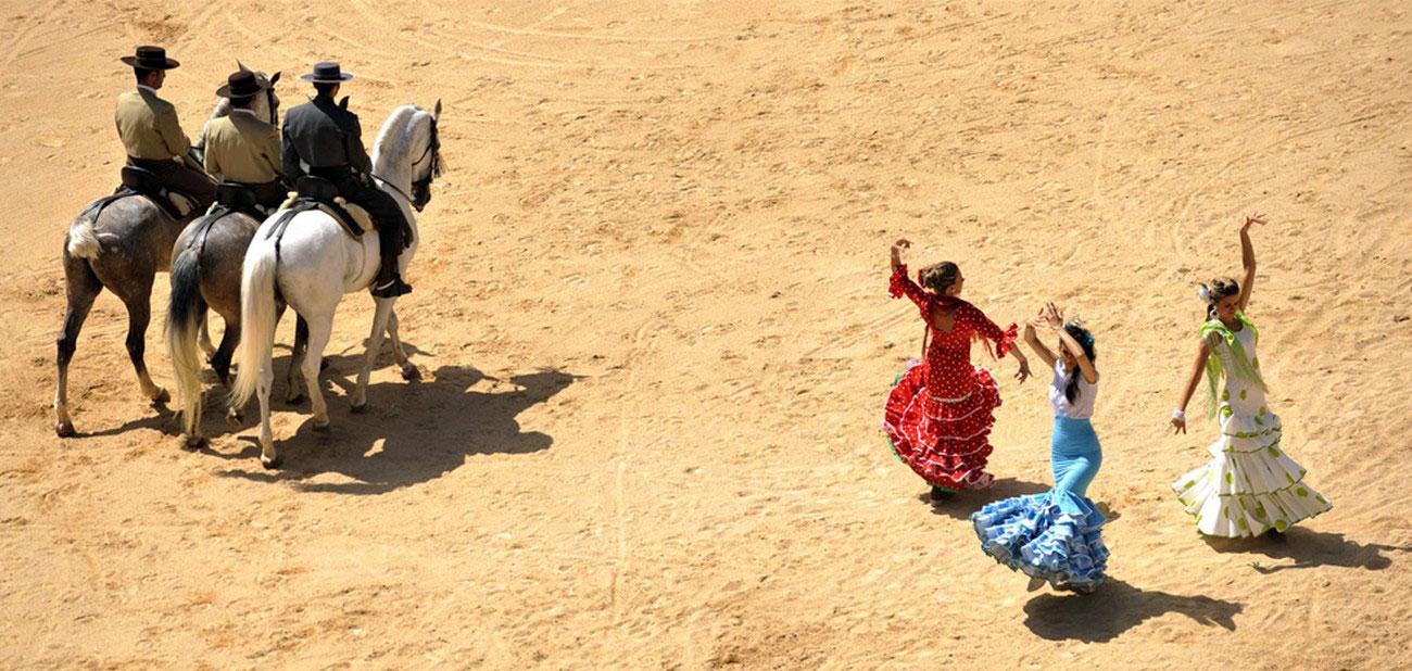открытие корриды в Испании