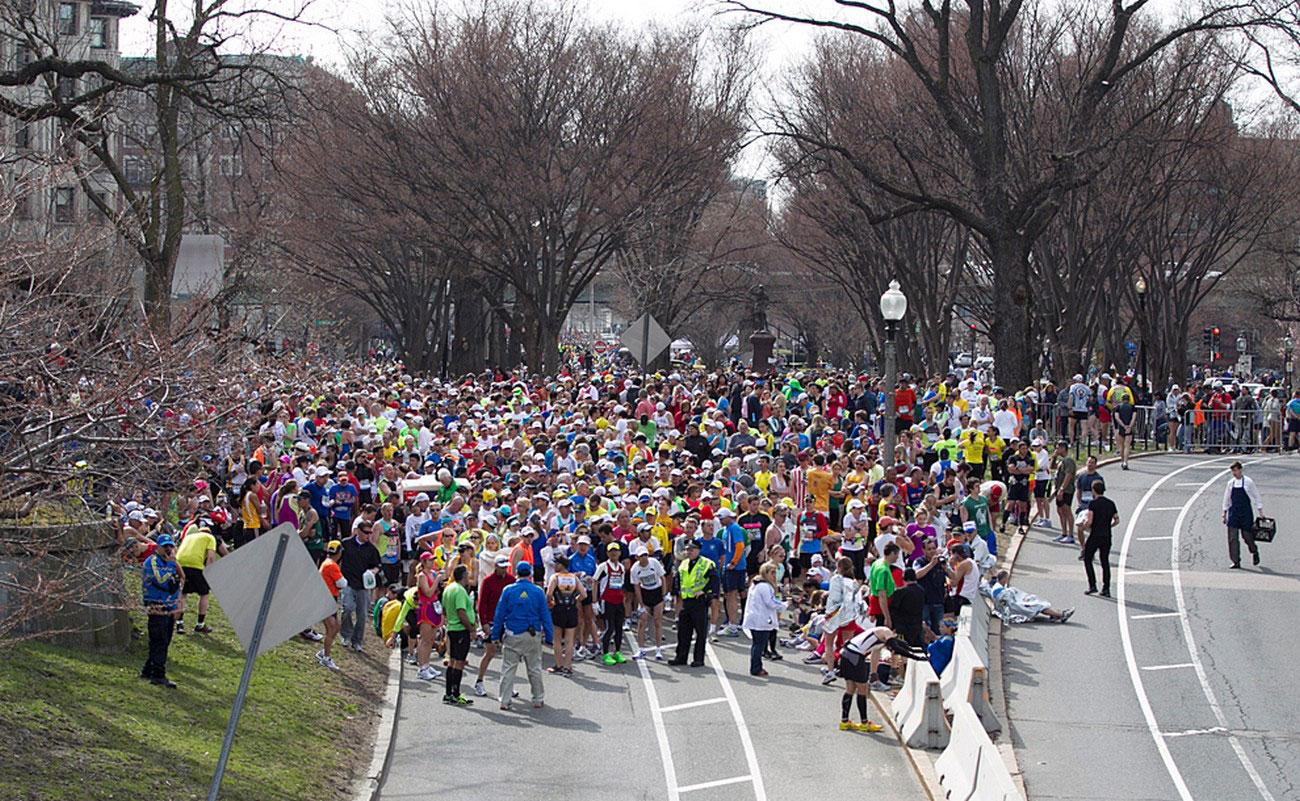 Спортсмены бостонского марафона 2013