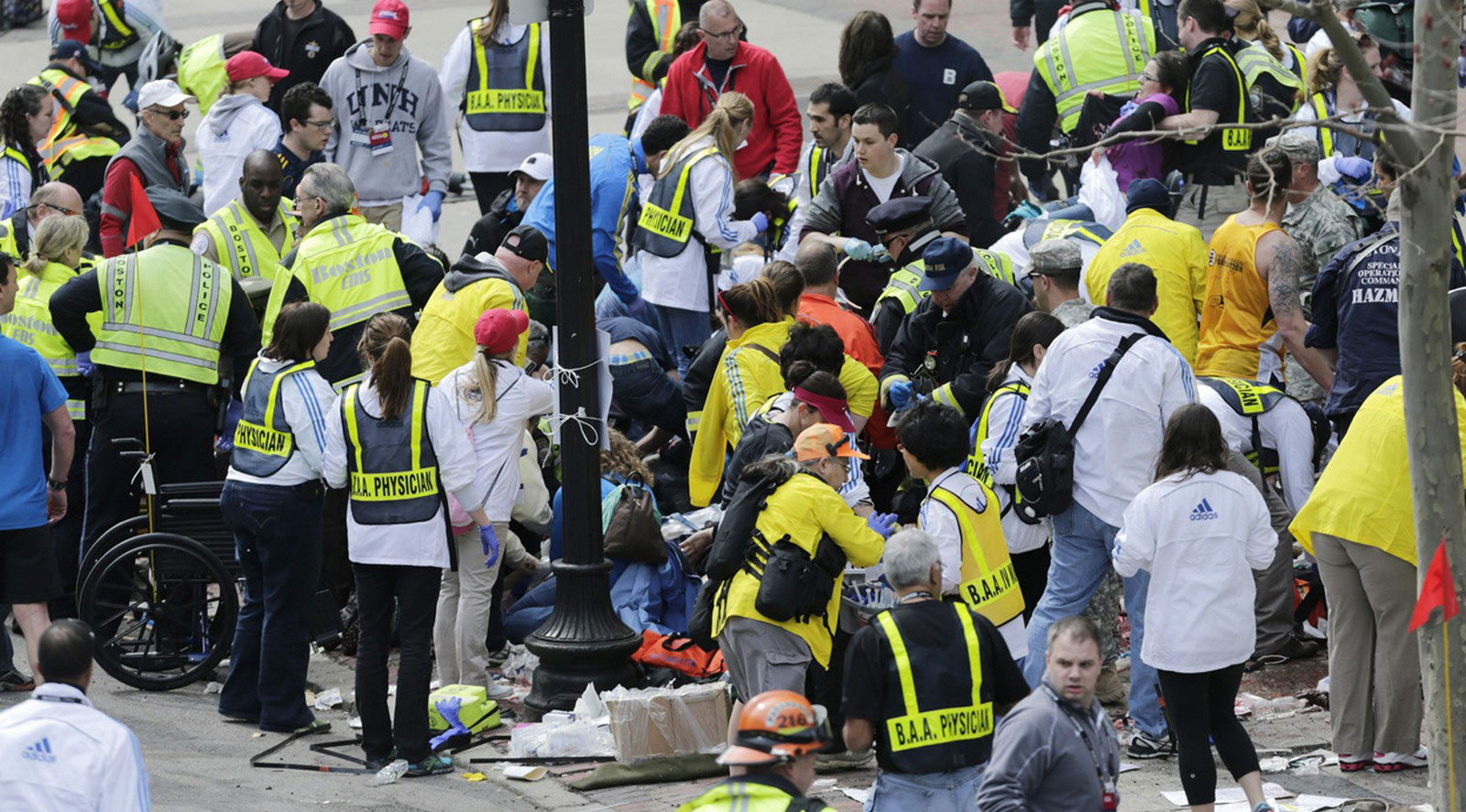 теракт на бостонском марафоне