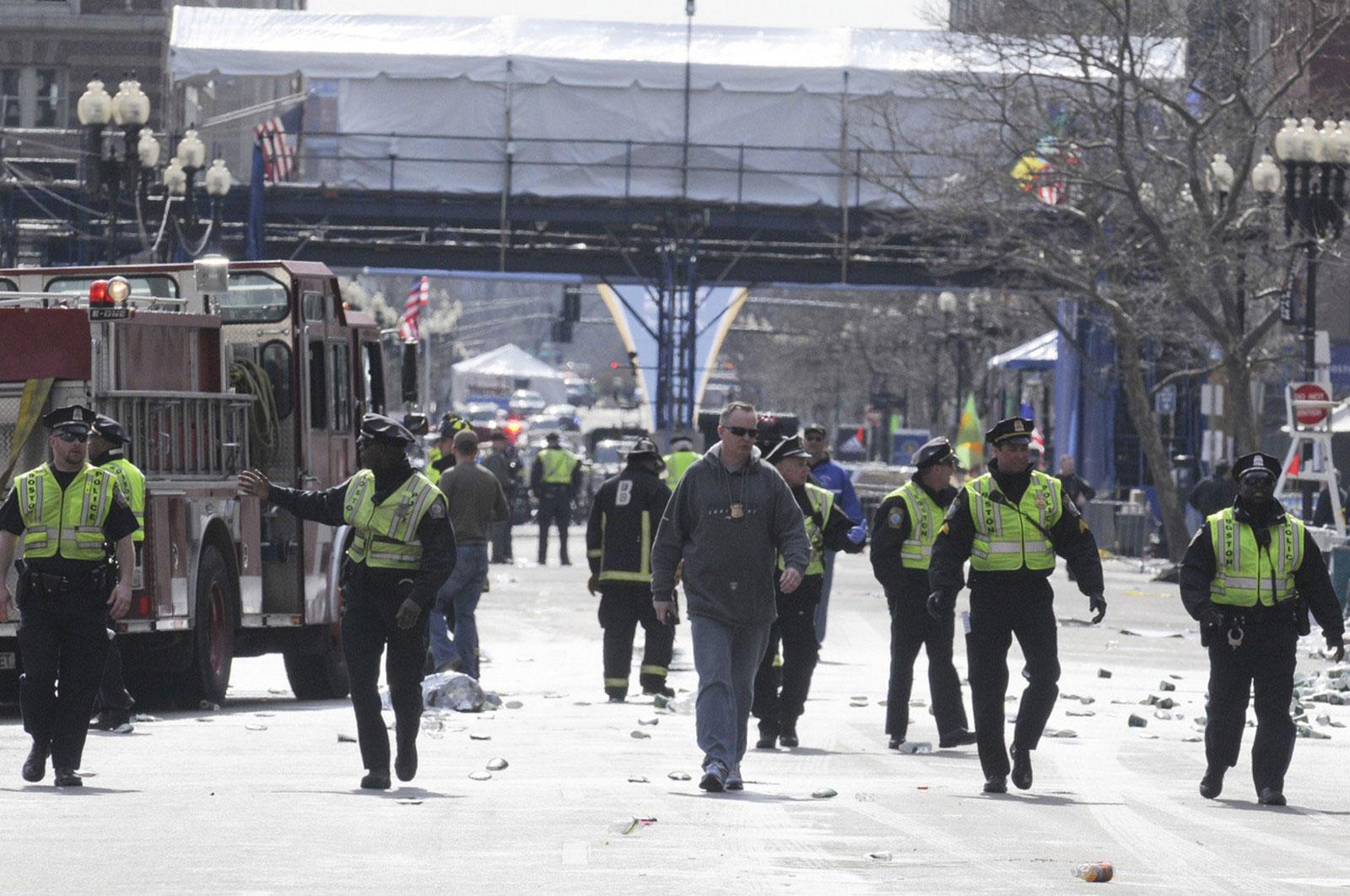 Полиция расследует взрывы