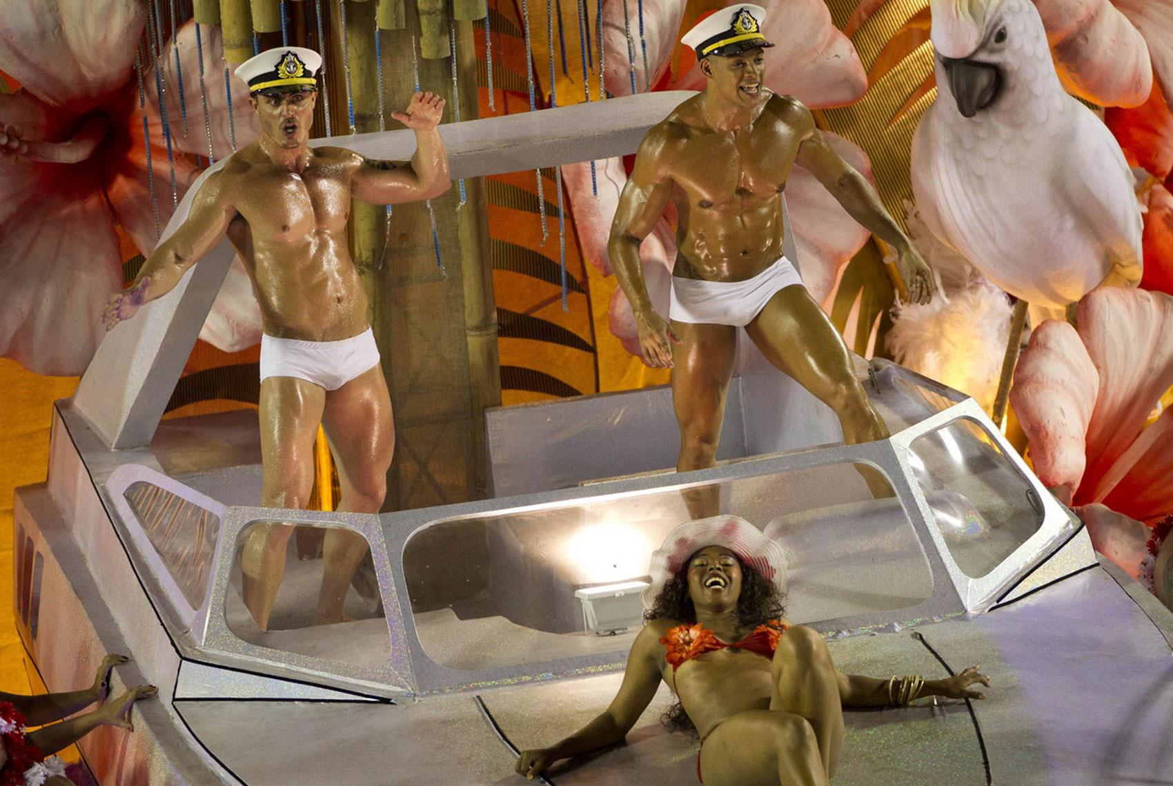 Артисты бразильского праздника
