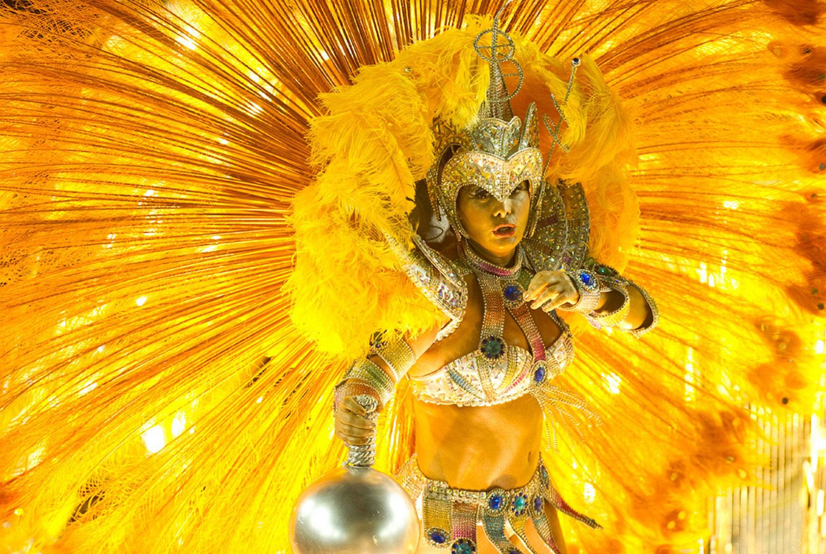 выступление на бразильском празднике, фото