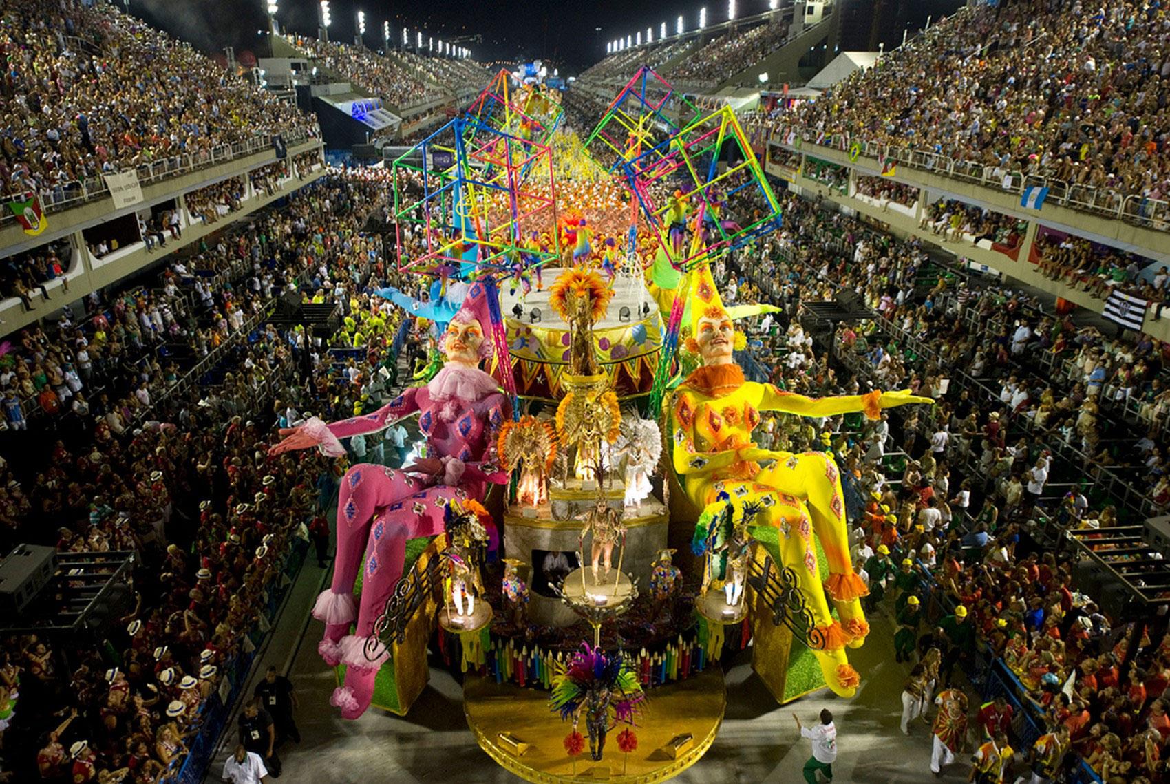 Рио-де-Жанейро, фото карнавала