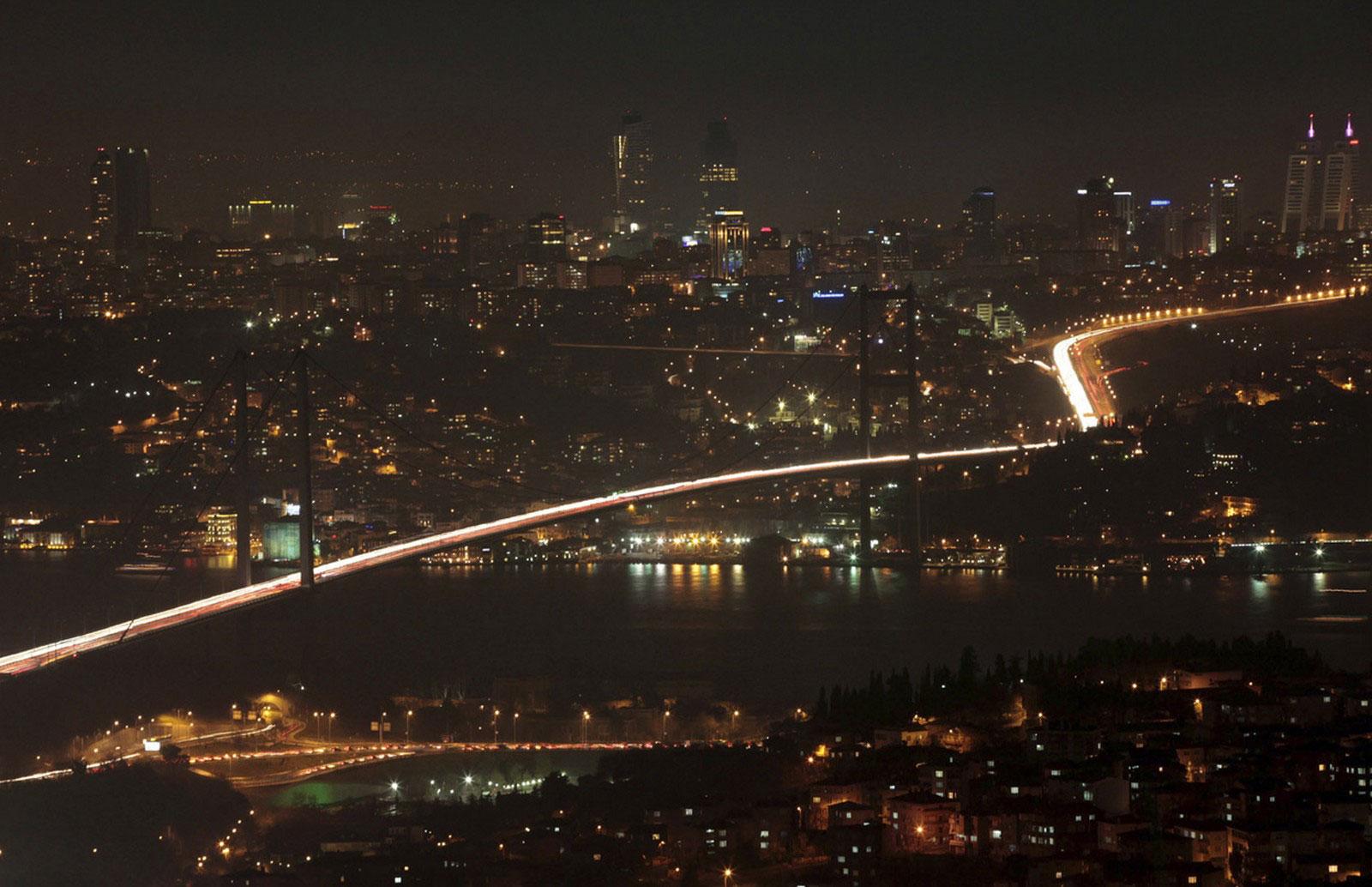 Босфорский мост Стамбула