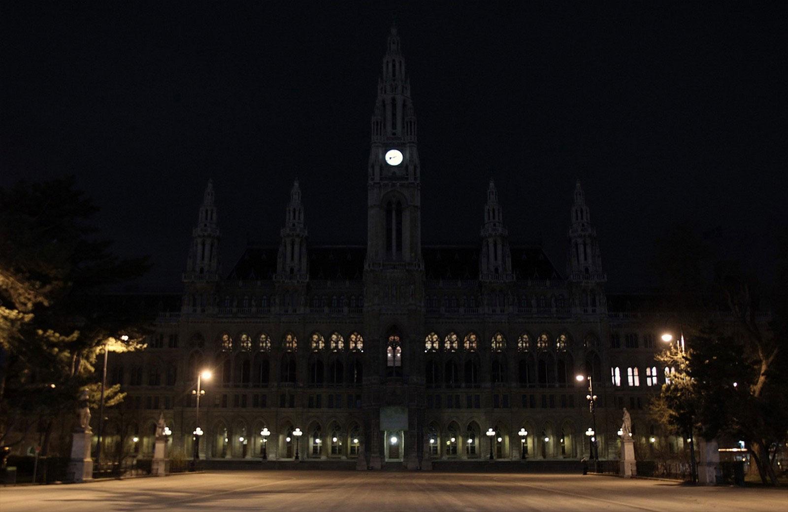 Здание мэрии, снимок из Вены