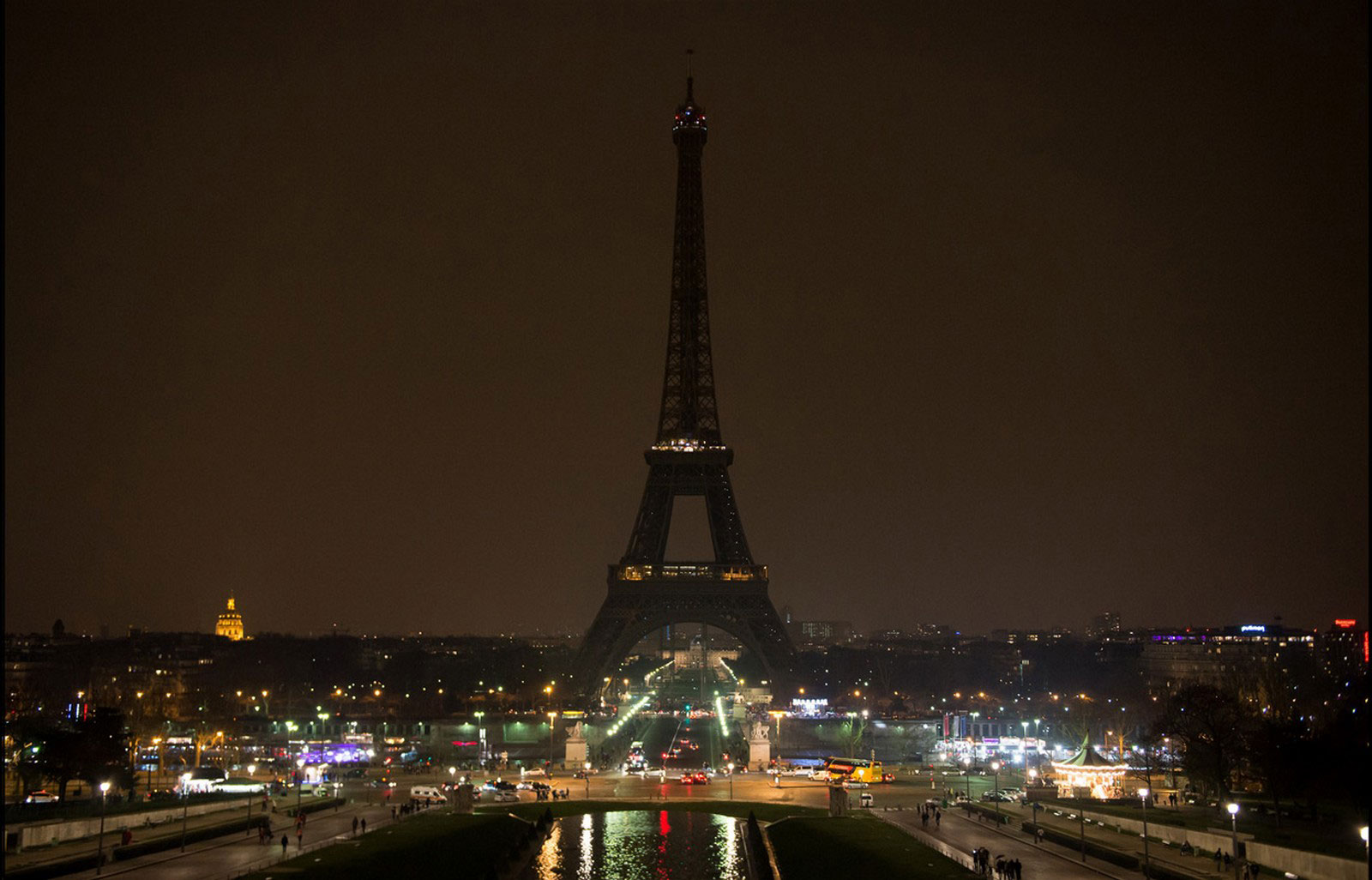 архитектурная достопримечательность Парижа