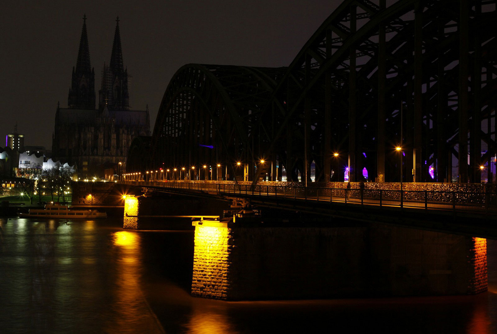 Мост Гогенцоллернов, снимок