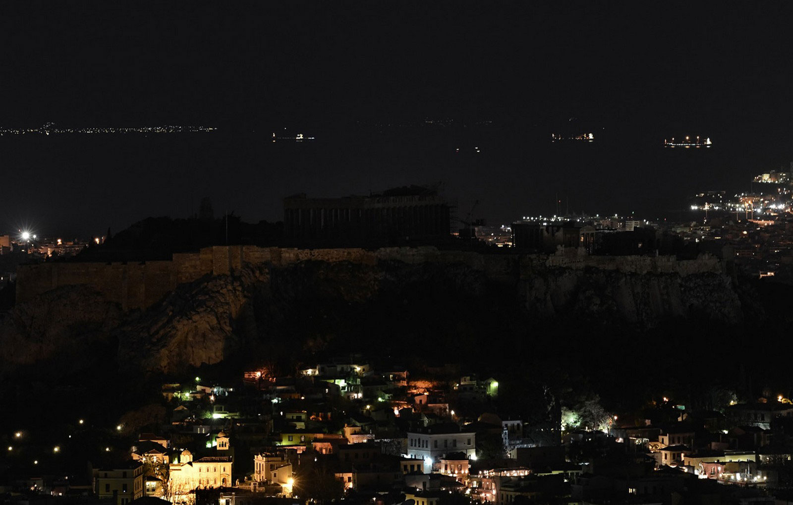 памятник античной архитектуры в Афинах