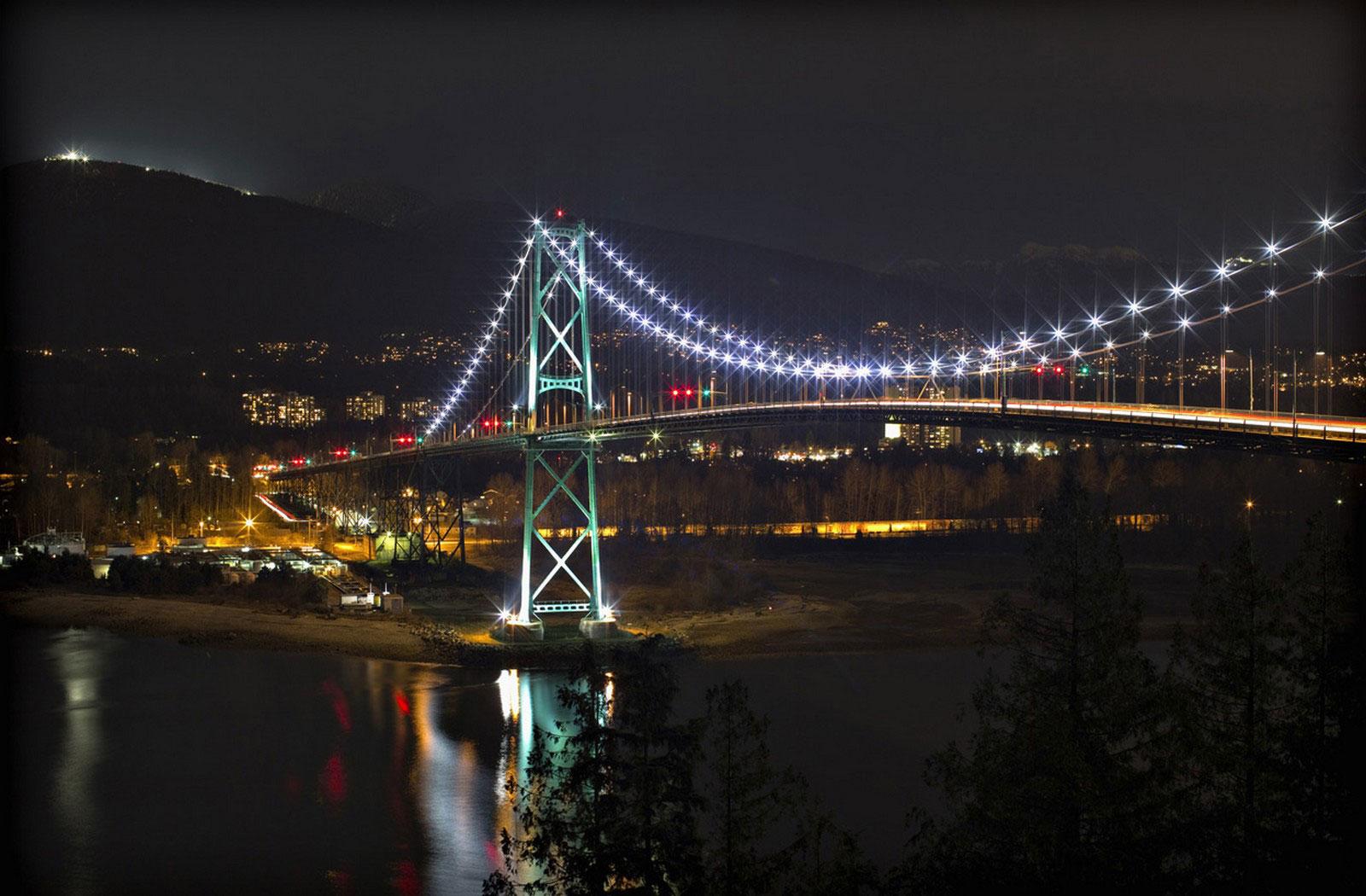 подвесной мост в Ванкувере