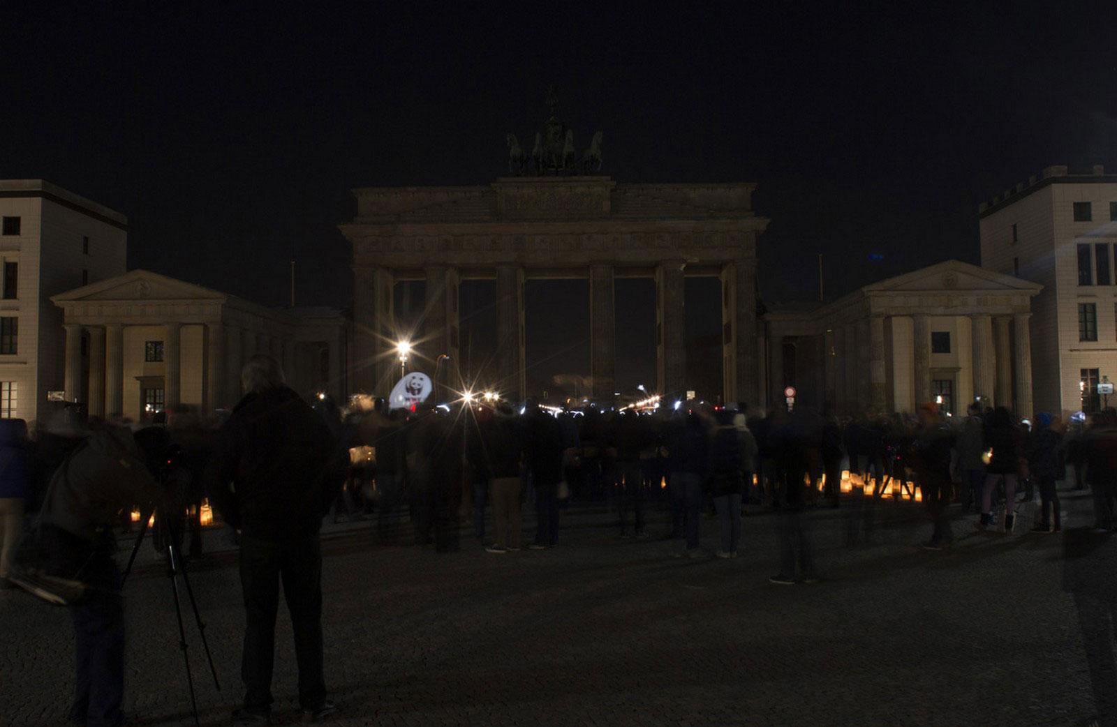 Бранденбургские ворота Берлина