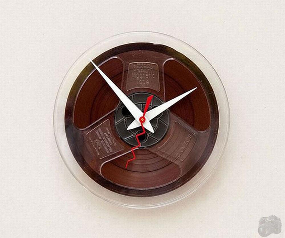 часы из кинопленки