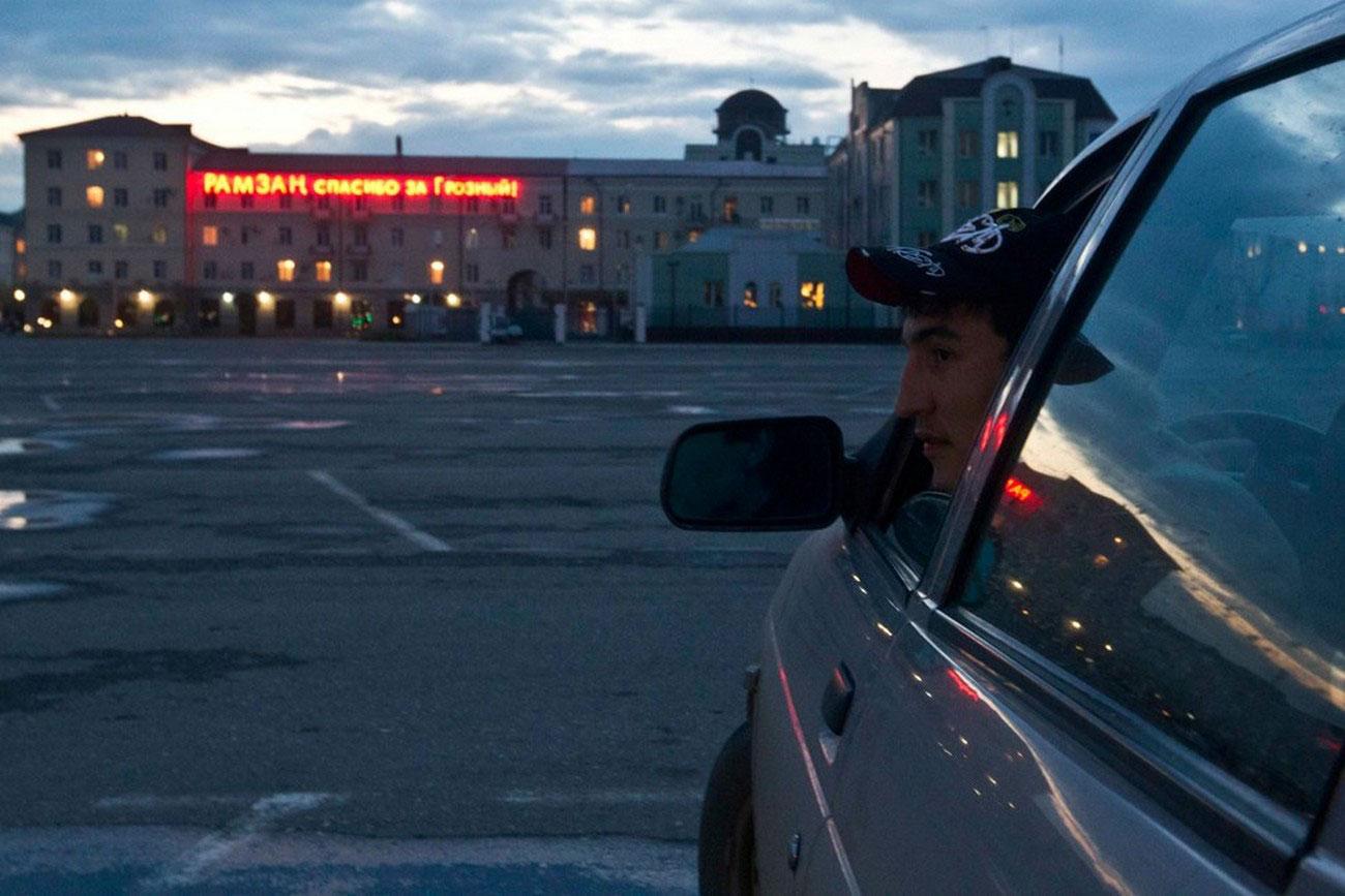 таксист в Грозном