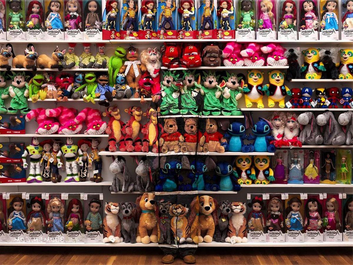 отдел мягкой игрушки
