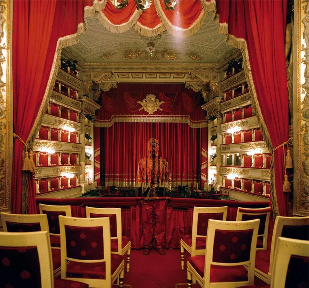 королевское ложе в оперном театре