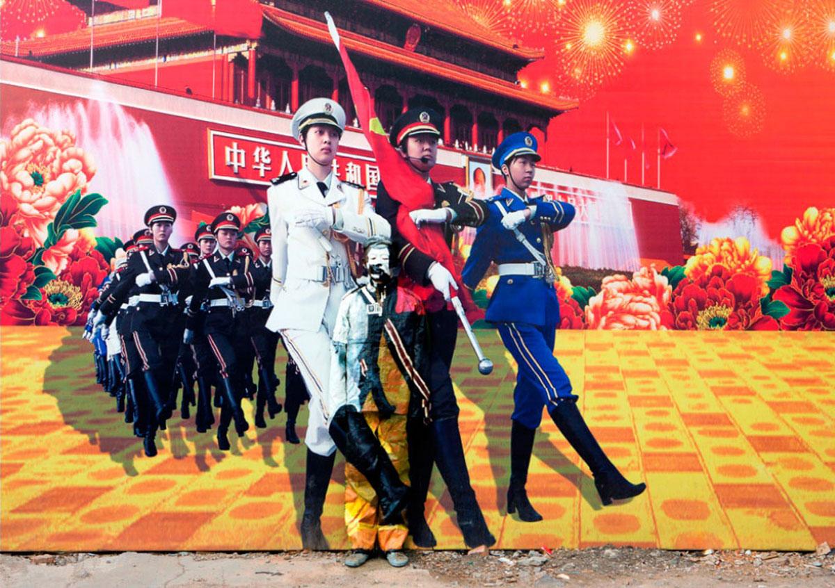 плакат в Китае