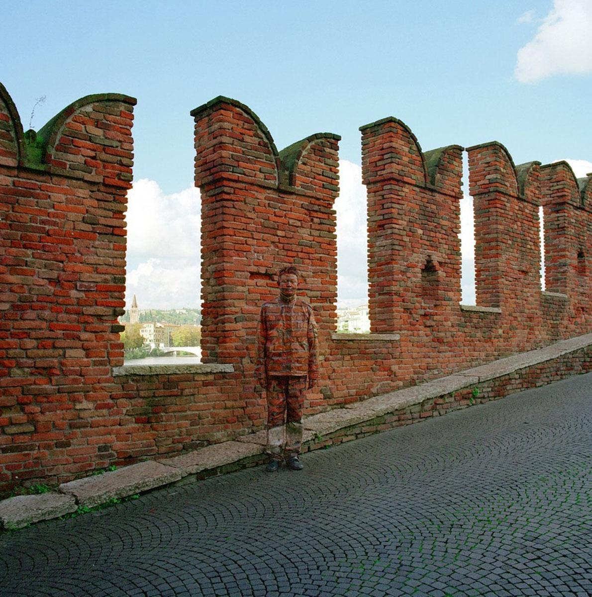 башня Кастельвеккио в Вероне