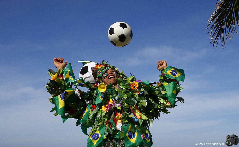 Бразильский футбольный болельщик