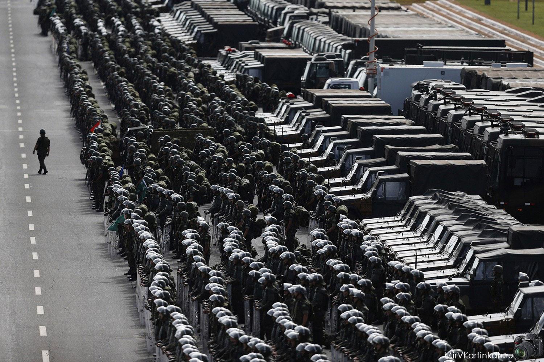 Солдаты бразильской армии