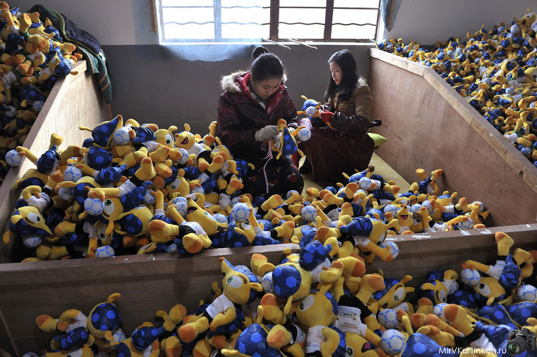Изготовление мягкой игрушки