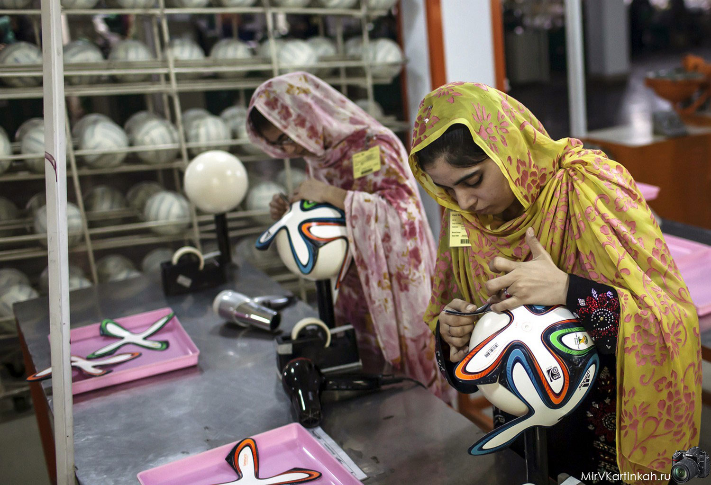 изготовление мячей