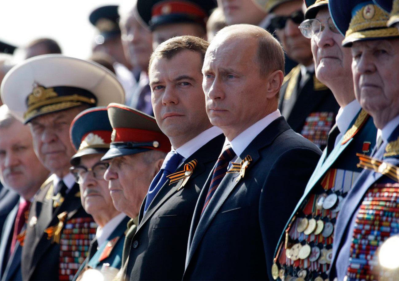 Президент России 9 мая, фото