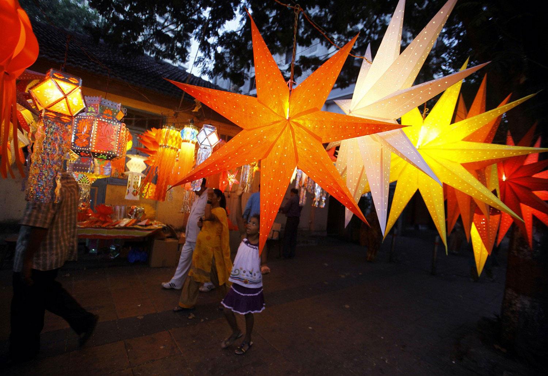 накануне празднования Дивали