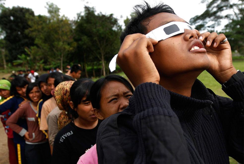 Индонезийские студенты, фото из Индонезии