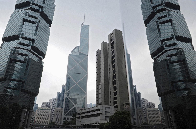 офисы и торговые центры Гонконга