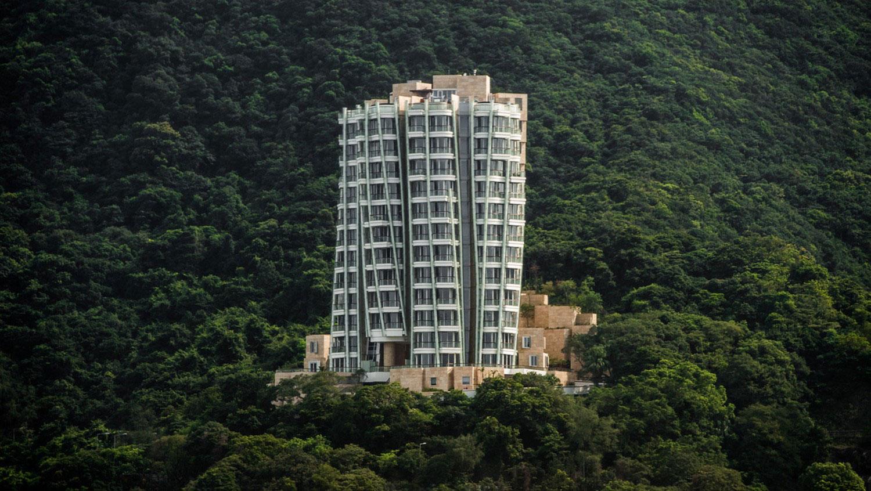 достопримечательность в китайском городе, фото