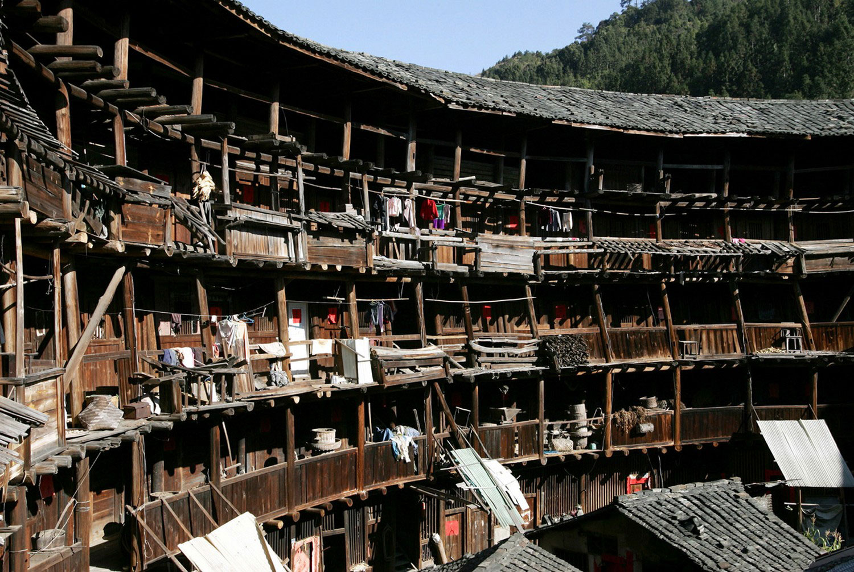 архитектура Китая изнутри, фото