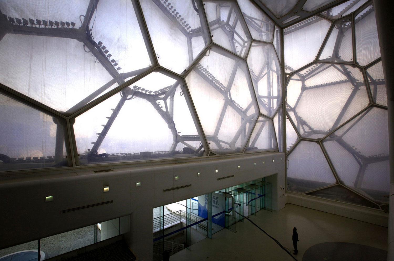 архитектура центрального бассейна в Китае, фото