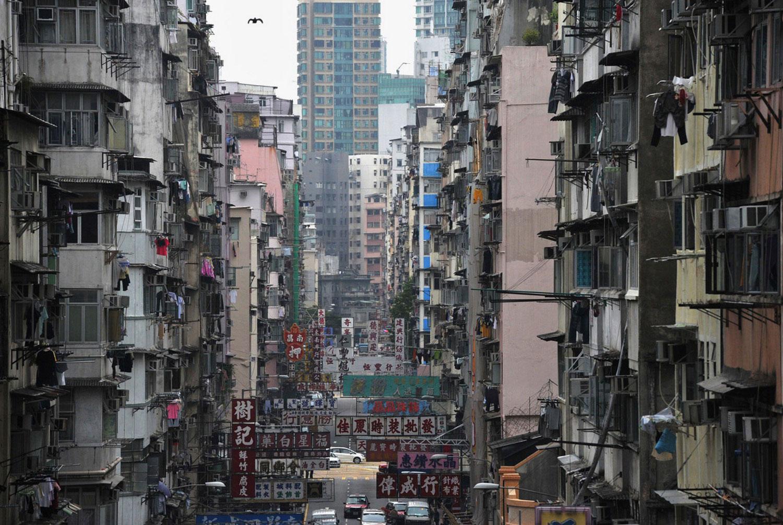 жилые дома в Гонконге