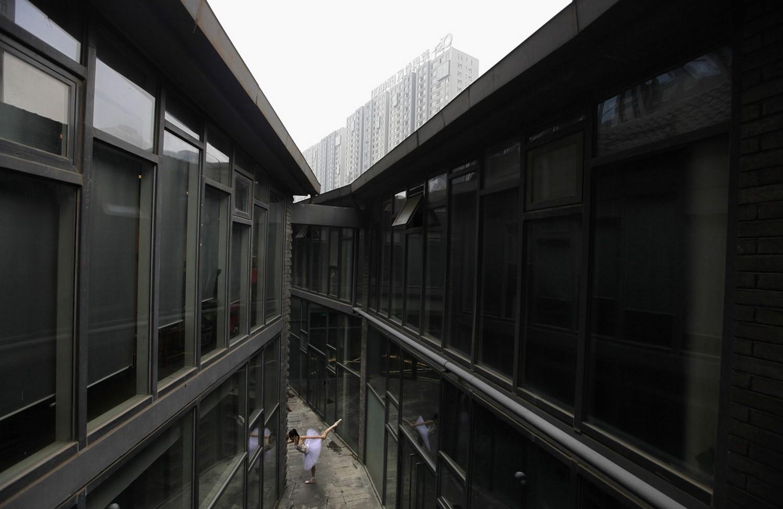 балерина в Пекине, фото