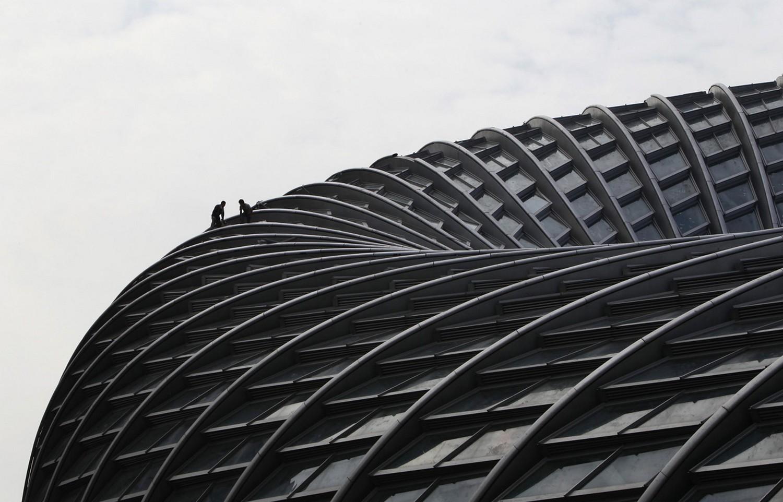 строительство в Пекине