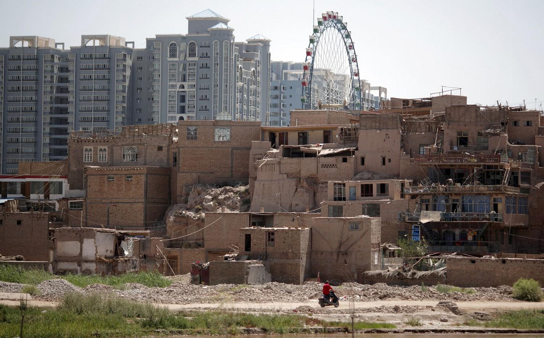 Старый китайский район Кашгар