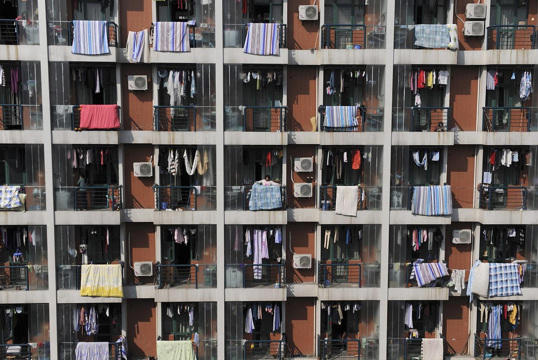 общежитие в Китае, фото