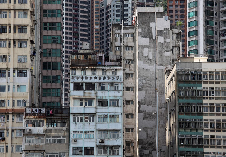 Старые жилые постройки Китая